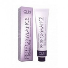Ollin Professional Performance - Перманентная крем-краска для волос, 4-09 шатен прозрачно-зеленый, 60 мл.
