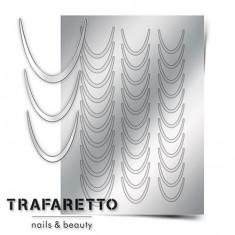 Trafaretto, Металлизированные наклейки CL-01, серебро
