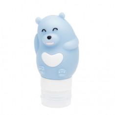 Dewal, Дорожная баночка «Медведь», синяя