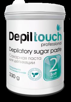 DEPILTOUCH PROFESSIONAL Паста сахарная мягкая / Depiltouch professional 330 г
