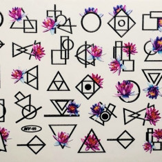 Anna Tkacheva, Слайдер NY №69 «Геометрия. Цветы»