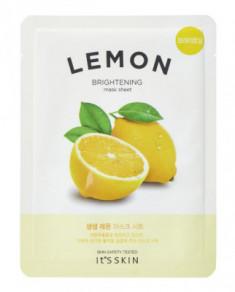 Тканевая маска тонизирующая с лимоном It's Skin The Fresh Mask Sheet Lemon 18 г It'S SKIN