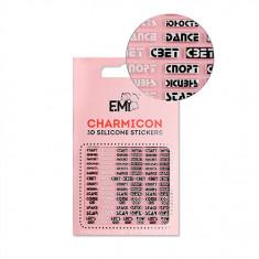 E.Mi, 3D-стикеры Charmicon №132 «Слова»