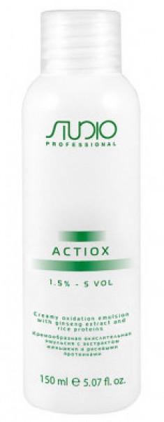 STUDIO PROFESSIONAL Эмульсия окислительная кремообразная с экстрактом женьшеня и рисовыми протеинами 1,5% / ActiOx 150 мл