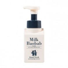 очищающая пенка для рук milkbaobab family hand wash