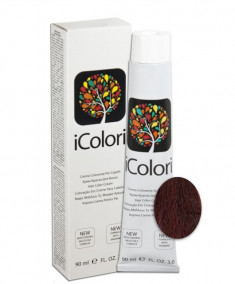 KAYPRO 6.2 краска для волос, темно-русый фиолетовый / ICOLORI 100 мл