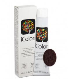 KAYPRO 5.22 краска для волос, светло-каштановый фиолетовый интенсивный / ICOLORI 100 мл