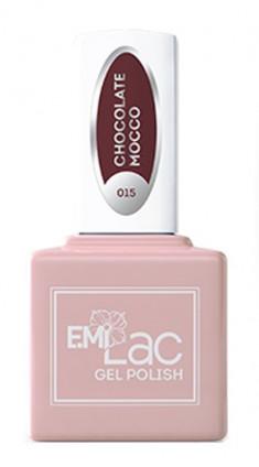 E.MI 015 гель-лак для ногтей, Шоколадный мокко / E.MiLac 6 мл