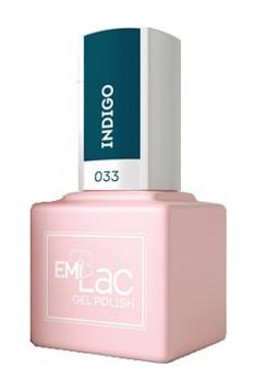 E.MI 033 гель-лак для ногтей, Индиго / E.MiLac 6 мл