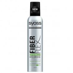 Syoss FiberFlex Упругая Фиксация мусс  для волос экстрасильной  фиксации 250 мл