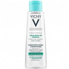 Vichy Мицеллярная вода с минералами для жирной и комбинированной кожи 200мл