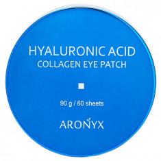 MEDI FLOWER Патчи гидрогелевые с коллагеном и гиалуроновой кислотой для глаз / Aronyx 60 шт