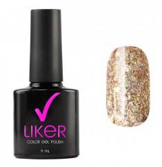 RUNAIL 4644 гель-лак для ногтей / Liker 9 мл