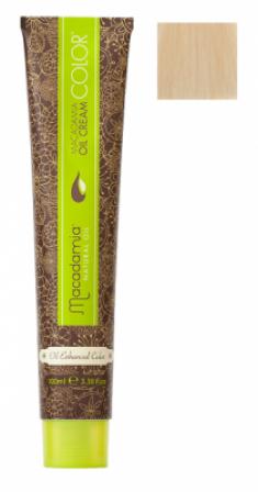 Краска для волос Macadamia Oil Cream Color 10.03 ПЛАТИНОВЫЙ ТЕПЛЫЙ БЛОНДИН 100мл