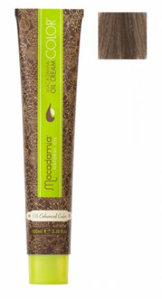Краска для волос Macadamia Oil Cream Color 7.1 СРЕДНИЙ ПЕПЕЛЬНЫЙ БЛОНДИН 100мл