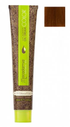 Краска для волос Macadamia Oil Cream Color 7.34 СРЕДНЕ ЗОЛОТИСТЫЙ МЕДНЫЙ БЛОНДИН 100мл
