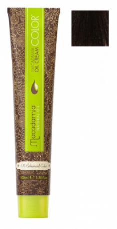 Краска для волос Macadamia Oil Cream Color 5.73 СВЕТЛЫЙ ШОКОЛАДНЫЙ КАШТАНОВЫЙ 100мл
