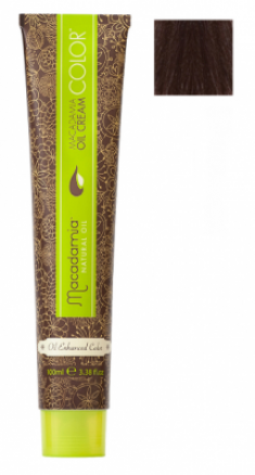 Краска для волос Macadamia Oil Cream Color 6.77 ЭКСТРА ТЕМНЫЙ ШОКОЛАДНЫЙ БЛОНДИН 100мл