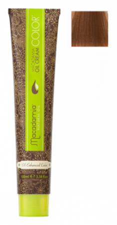 Краска для волос Macadamia Oil Cream Color 8.77 ЭКСТРА СВЕТЛЫЙ ШОКОЛАДНЫЙ БЛОНДИН 100мл
