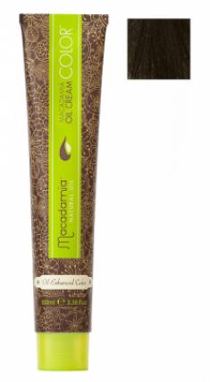 Краска для волос Macadamia Oil Cream Color 5/2 СВЕТЛЫЙ ЗЕЛЕНО МАТОВЫЙ КАШТАНОВЫЙ 100мл