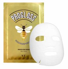Маска тканевая с мёдом VT PROGLOSS MASK 28г VT Cosmetics
