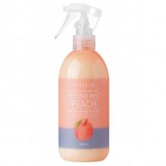 пилинг-мист для тела с экстрактом персика welcos around me natural perfume vita peeling mist peach
