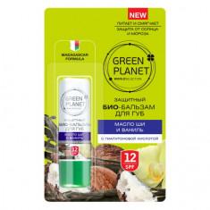 Green Planet, Био-бальзам для губ «Масло ши и ваниль»