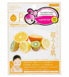 Маска для лица питательная c витаминным комплексом Sunsmile Vitamin Essence Mask 23мл