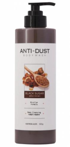Гель для душа с черным сахаром KeraSys Shower mate black sugar 500мл