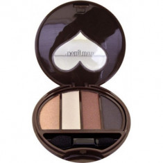 Тени для век 4-х цветные Koji Dolly wink eye shadow тон №01 классический коричневый