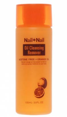 Жидкость для снятия лака с апельсиновым маслом BCL Nail oil remover 100мл